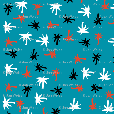 Palms_on_teal_30x30_smaller_for_spoonflower_preview