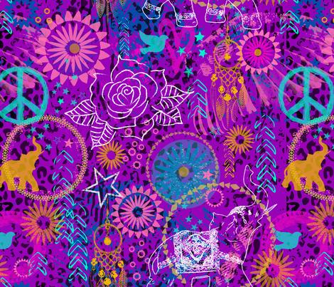 Bohemian Rock fabric by mariafaithgarcia on Spoonflower - custom fabric