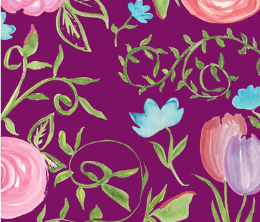 Floral fabric by vipha_g on Spoonflower - custom fabric
