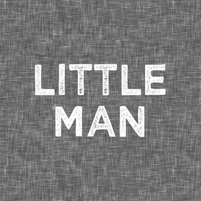 "8"" quilt block - Little Man"