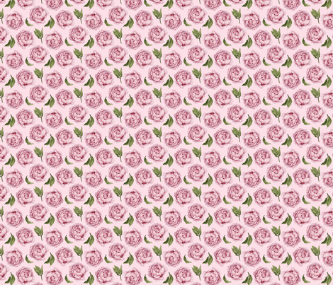 Peony Rose on Pink fabric by kookinutsfabricco on Spoonflower - custom fabric