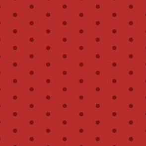 red mini dots fabric // mini dots fabric tone on tone red fabric coordinate