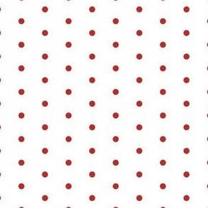 mini dots fabric // red polka dots fabric polka dot fabric
