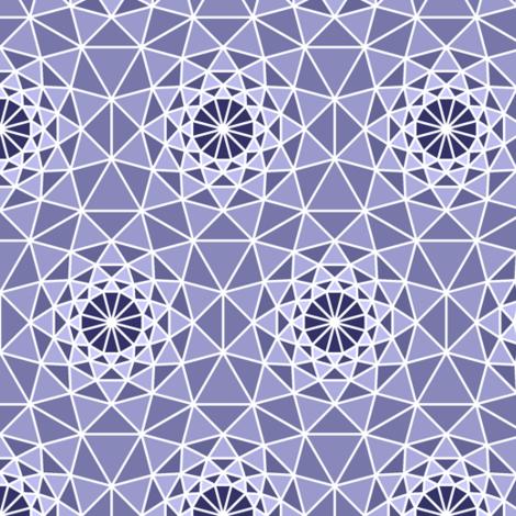 06167535 : SC3 V shard : indigo blueberry lavender fabric by sef on Spoonflower - custom fabric