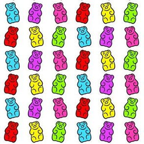 Dancing Gummi Bears