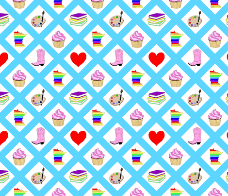 Billie Paige James fabric by alicejamesdesign on Spoonflower - custom fabric