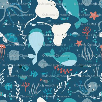 Sea creatures 004