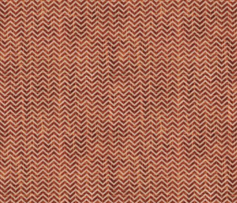 Rusty Chevron fabric by sarah_treu on Spoonflower - custom fabric