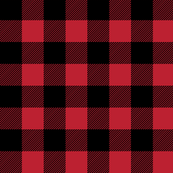 "buffalo plaid - 1"" scale"