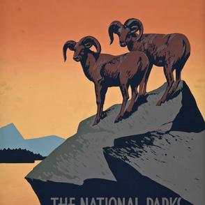 Preserve Wildlife WPA Poster