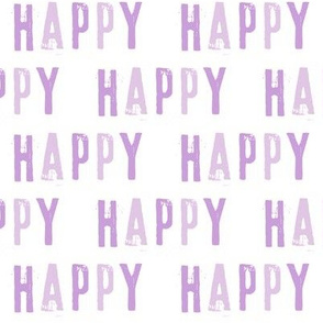 Happy - Purple
