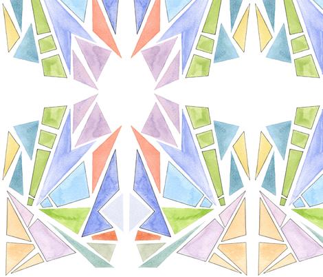 Beach Fractals fabric by laurenservati on Spoonflower - custom fabric