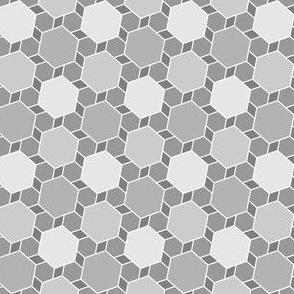 hexes 2to1 : grey