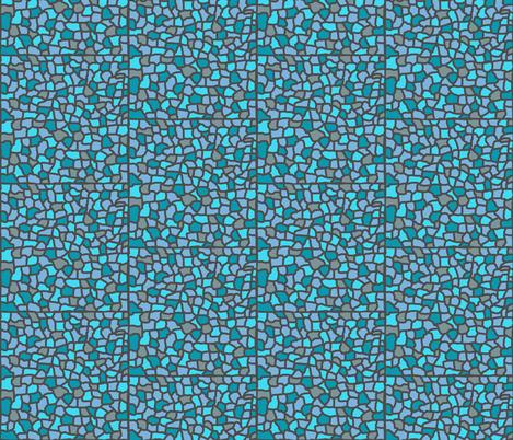 turquoise mosaic