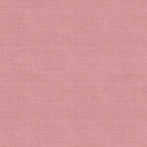 Linen Antique Rose Pink