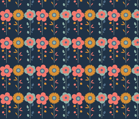 Bouquet 2 fabric by agathests on Spoonflower - custom fabric