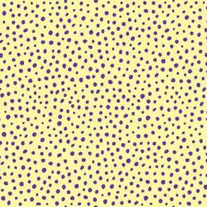 Cheetah / Yellow & Purple
