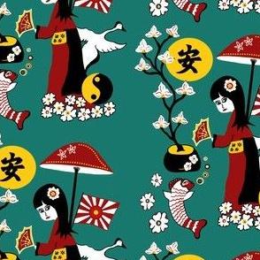 Japanese Tranquility Garden sewindigo