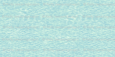 pale rippling water