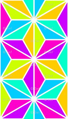 06169950 : SC3C isosceles : psychedelic rainbow