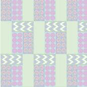 Mint Geometric Quilt