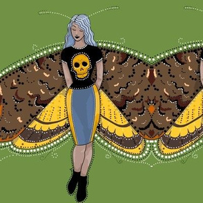 Death's head moth fairy