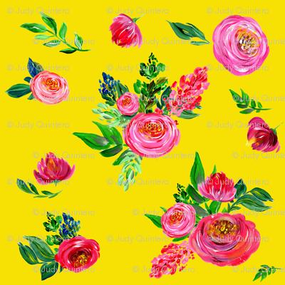 Pink Summer / Bright Yellow