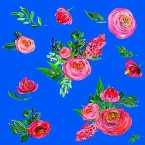 Pink Summer / Very Bright Blue