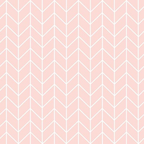 chevron blush pink fabric