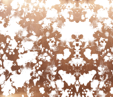 rose gold painted abstract fabric paint abstract design interior design fabric by charlottewinter on Spoonflower - custom fabric
