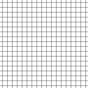 "dark grey windowpane grid 1"" square check graph paper"