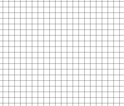 "granite grey windowpane grid 1"" square check graph paper fabric by misstiina on Spoonflower - custom fabric"