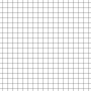 "granite grey windowpane grid 1"" square check graph paper"