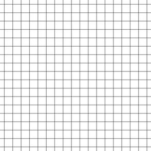 """granite grey windowpane grid 1"""" square check graph paper"""