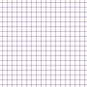 amethyst windowpane grid 1""