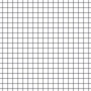 """midnight blue windowpane grid 1"""" square check graph paper"""