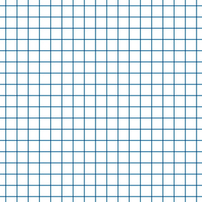 "royal blue windowpane grid 1"" square check graph paper"