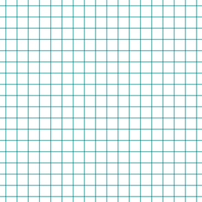 teal windowpane grid 1""