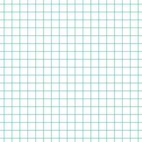 sea foam green windowpane grid 1""