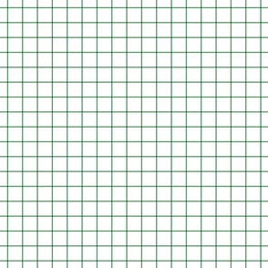 kelly green windowpane grid 1""
