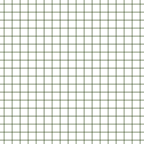hunter green windowpane grid 1""