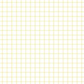 sunshine yellow windowpane grid 1""