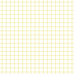 butter yellow windowpane grid 1""