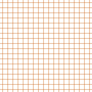 orange windowpane grid 1""