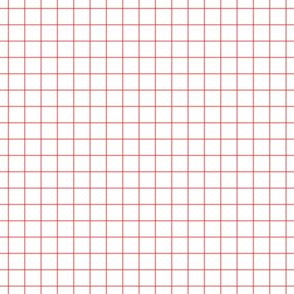 coral windowpane grid 1""