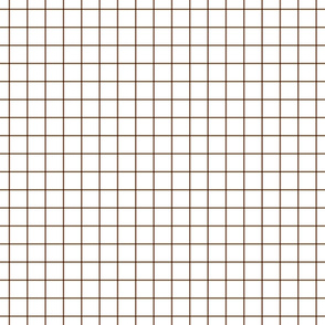 chocolate windowpane grid 1""
