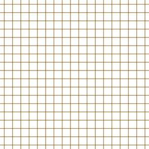 caramel windowpane grid 1""