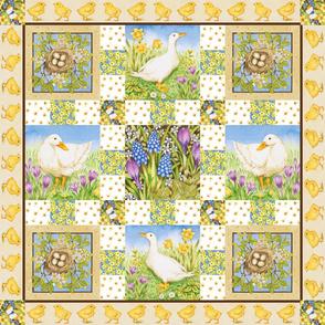 Springtime_patchwork_quilt