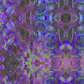 DREAMCATCHER INSPIRATION XL NIGHT MAGICAL GARDEN purple lime