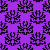 Custom_doxie_damask_black_on_purple_rev_shop_thumb